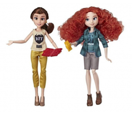 Lalka i akcesoria Hasbro Disney Princess Ralph Demolka Bella i Merida