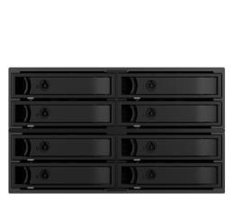 "Obudowa dysku ICY BOX Macierz 8x 2.5"" SATA/SAS HDD/SSD"