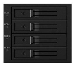 "Obudowa dysku ICY BOX Macierz 4x 3.5"" SATA/SAS HDD"