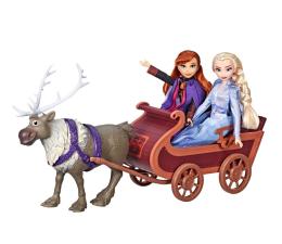 Lalka i akcesoria Hasbro Disney Frozen 2 Elsa i Anna w saniach