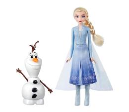 Lalka i akcesoria Hasbro Disney Frozen 2 Elsa i mówiący Olaf