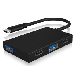 Hub USB ICY BOX USB-C - 2x USB-C, 2x USB 3.0