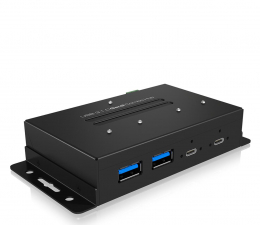 Hub USB ICY BOX HUB Przemysłowy USB-C, USB (4 porty)