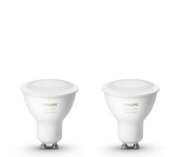 Inteligentna żarówka Philips Hue White and Color Ambiance (2szt. GU10 5,7W)