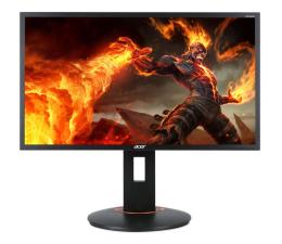 "Monitor LED 24"" Acer XF240HBMJDPR czarny"