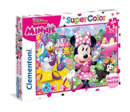 Puzzle dla dzieci Clementoni Puzzle Disney 104 el. Glitter Minnie