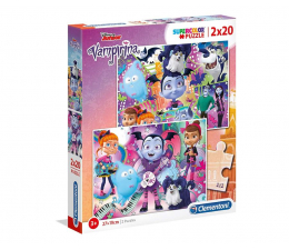 Puzzle dla dzieci Clementoni Puzzle Disney 2x20 el. Vampirina