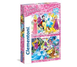 Puzzle dla dzieci Clementoni Puzzle Disney 2x20 el. Princess