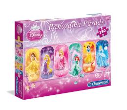 Puzzle dla dzieci Clementoni Puzzle Disney 250 el. Panorama Parade Princess