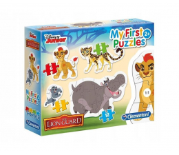 Puzzle dla dzieci Clementoni Puzzle Disney 3-6-9-12 Moje Pierwsze Puzzle Lion King