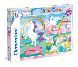 Puzzle dla dzieci Clementoni Puzzle 3x48 el I Believe in Unicorns