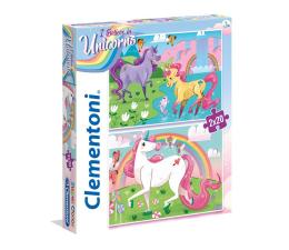 Puzzle dla dzieci Clementoni Puzzle 2x20 el I Believe in Unicorns