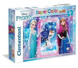 Puzzle dla dzieci Clementoni Puzzle Disney 60 el. Maxi Frozen