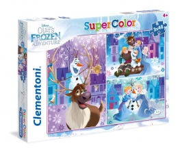 Puzzle dla dzieci Clementoni Puzzle Disney 3x48 el Olaf's Frozen Adventure