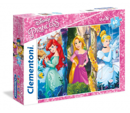 Puzzle dla dzieci Clementoni Puzzle Disney Maxi 60 el. Princess