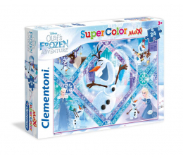 Puzzle dla dzieci Clementoni Puzzle Disney Maxi 24 el. Olaf's Frozen Adventure