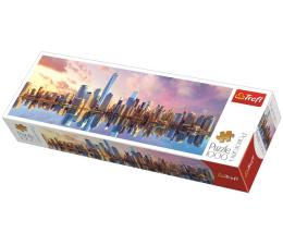 Puzzle 1000 - 1500 elementów Trefl 1000 el panorama Manhattan