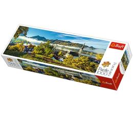Puzzle 1000 - 1500 elementów Trefl 1000el panorama Nad jeziorem Schliersee 29035
