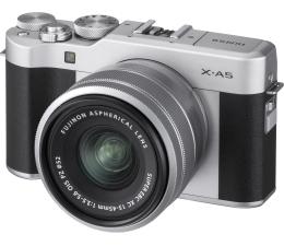 Bezlusterkowiec Fujifilm X-A5 + XF 15-45 srebrny