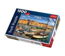 Puzzle 1000 - 1500 elementów Trefl 1500 el Stary Port w Saint Tropez