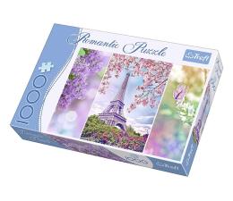 Puzzle 1000 - 1500 elementów Trefl 1000 el Romantic Wiosna w Paryżu