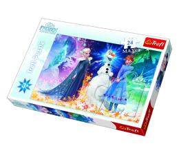 Puzzle dla dzieci Trefl Disney 24-Maxi Frozen W świetle gwiazd