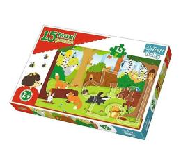 Puzzle dla dzieci Trefl 15 el MAXI Zwierzęta w lesie