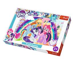 Puzzle dla dzieci Trefl 24-Maxi Szczęśliwe kucyki My Little Pony