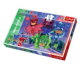 Puzzle dla dzieci Trefl 24-Maxi Ukryci bohaterowie PJ Masks