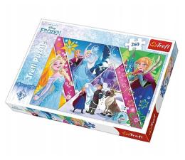 Puzzle do 500 elementów Trefl Disney 260 el Magiczne wspomnienia Frozen