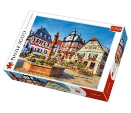 Puzzle powyżej 1500 elementów Trefl 3000 el Rynek w Heppenheim Niemcy