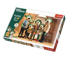 Puzzle dla dzieci Trefl 24-Maxiiki Portret rodzinny z Robobotem