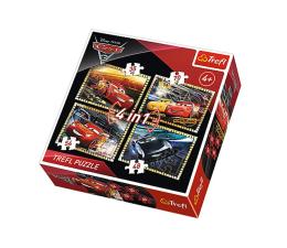 Puzzle dla dzieci Trefl Disney 4w1 Cars 3