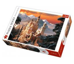 Puzzle powyżej 1500 elementów Trefl 3000 el Zimowy Zamek Neuschwanstein