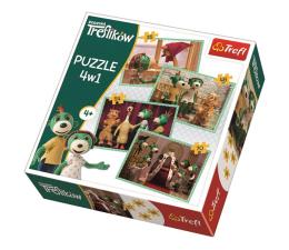 Puzzle dla dzieci Trefl 4w1 Nowi przyjaciele