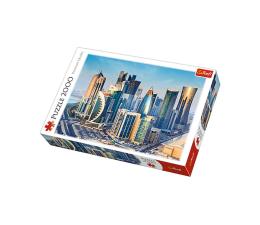 Puzzle powyżej 1500 elementów Trefl 2000 el Doha Katar