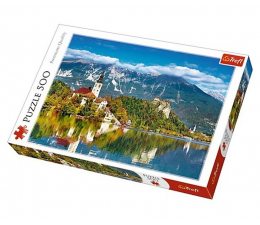 Puzzle 500 - 1000 elementów Trefl 500 el Bled Słowenia