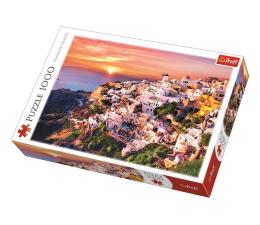Puzzle 1000 - 1500 elementów Trefl 1000 el Zachód słońca nad Santorini