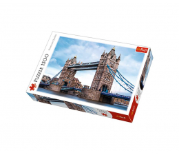 Puzzle 1000 - 1500 elementów Trefl 1500 el Tower Bridge nad Tamizą