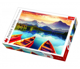 Puzzle powyżej 1500 elementów Trefl 2000 el Kryształowe jezioro