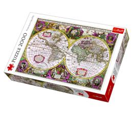 Puzzle powyżej 1500 elementów Trefl 2000 el Mapa Ziemi