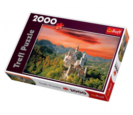 Puzzle powyżej 1500 elementów Trefl 2000 el Nowy Łabędzi Kamień