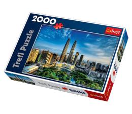 Puzzle powyżej 1500 elementów Trefl 2000 el Petronas Twin Towers