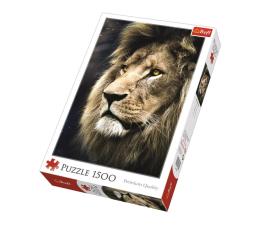 Puzzle 1000 - 1500 elementów Trefl 1500 el Portret Lwa