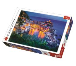 Puzzle powyżej 1500 elementów Trefl 2000 el Vernazza o zmroku