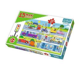 Puzzle dla dzieci Trefl 15 el MAXI Pojazdy miejskie