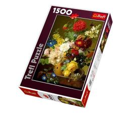 Puzzle 1000 - 1500 elementów Trefl 1500 el Martwa natura z kwiatami