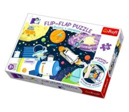 Puzzle dla dzieci Trefl puzzle z okienkiem 36 el Kosmos