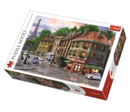 Puzzle powyżej 1500 elementów Trefl 6000 el Uliczka Paryża