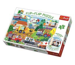 Puzzle dla dzieci Trefl Puzzle z okienkiem 36 el Pojazdy